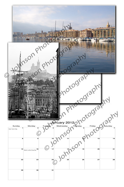 2012 Calendar - Provence France