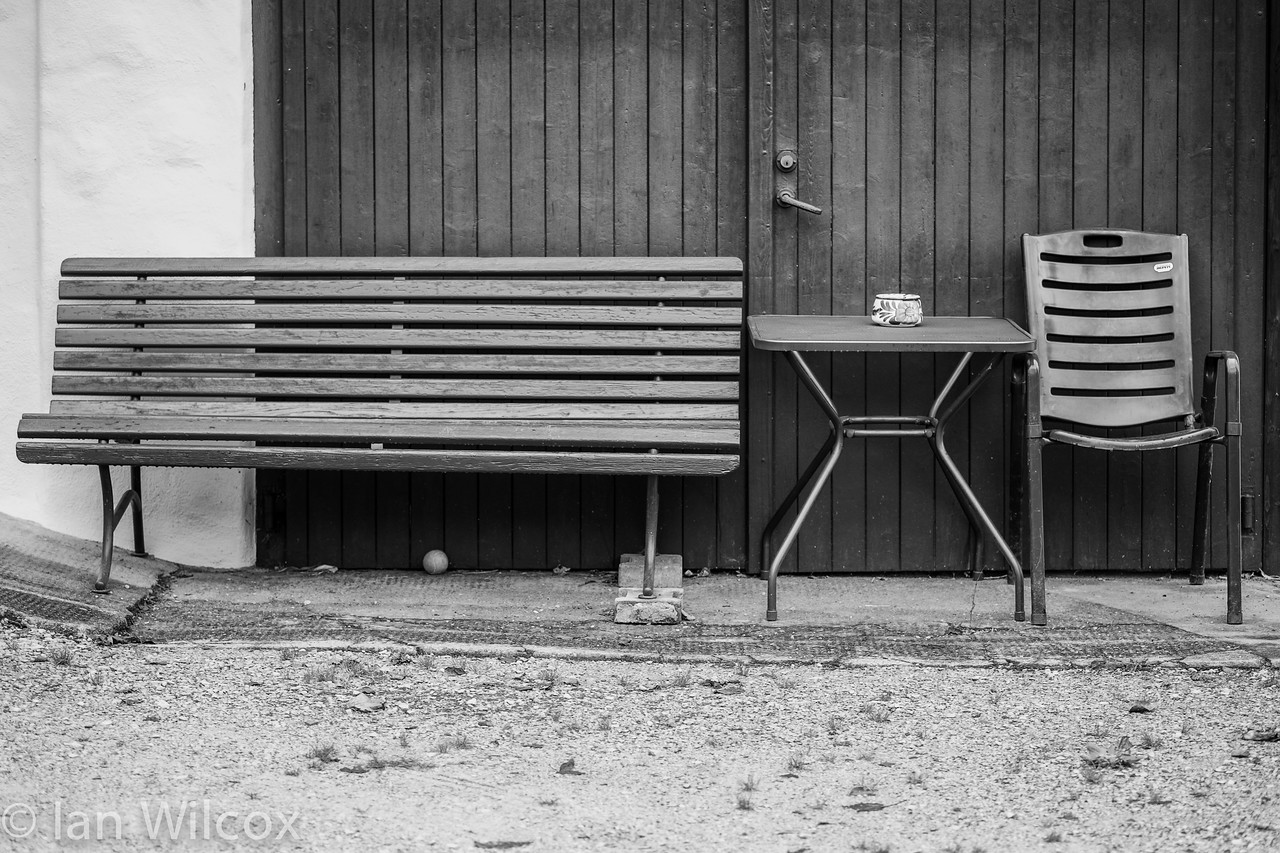 BENCH AND SEAT