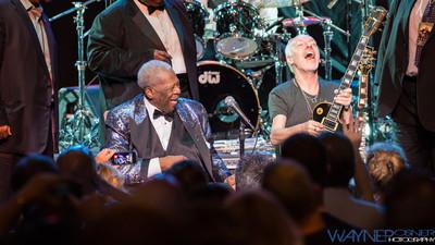 BB King and Peter Frampton at The LVH