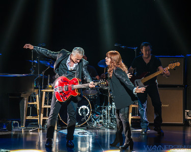 Pat Benatar and Neil Giraldo at the LVH