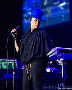 Erykah Badu at the Thomas and Mack Center