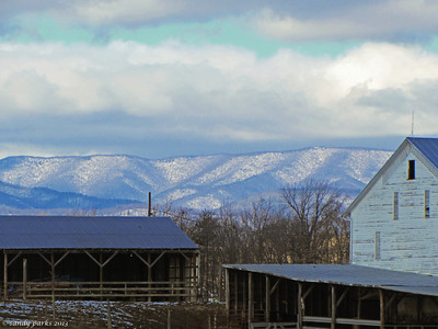 12-15-13: looking west, Bridgewater Road