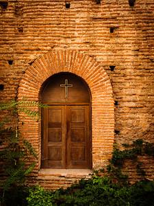 Side Entrance, St. George's Rotunda, Sofia, Bulgaria - September 14th
