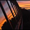 Window Reflection Sunrise