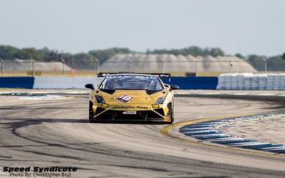 Lamborghini Blancpain Super Trofeo Sebring 2014