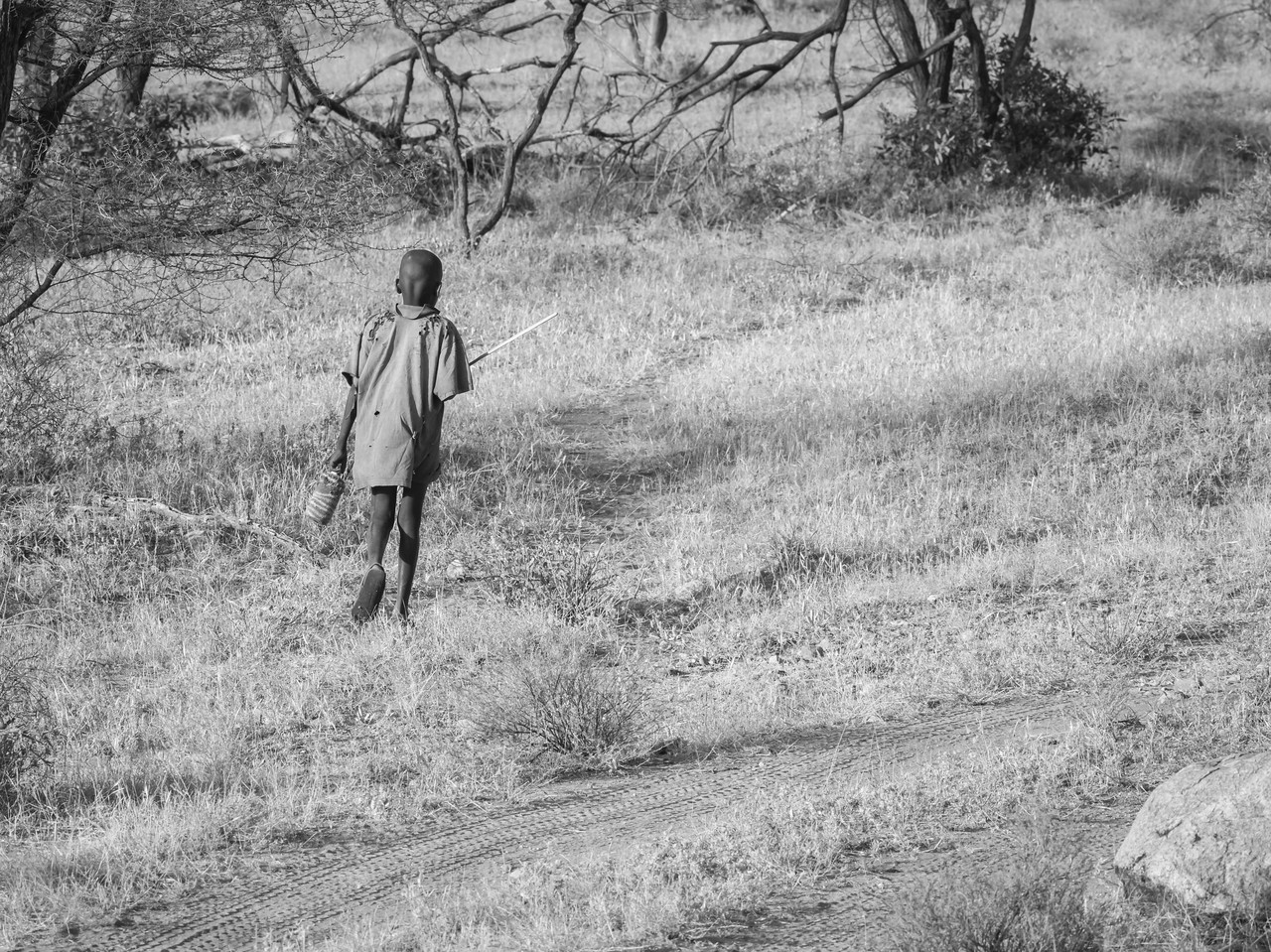 Lonely Samburu Boy
