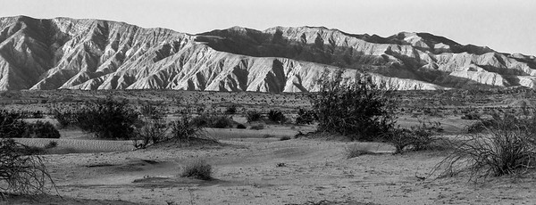 Santa Rosa Mountains, north -north-east of Borrego Springs, CA