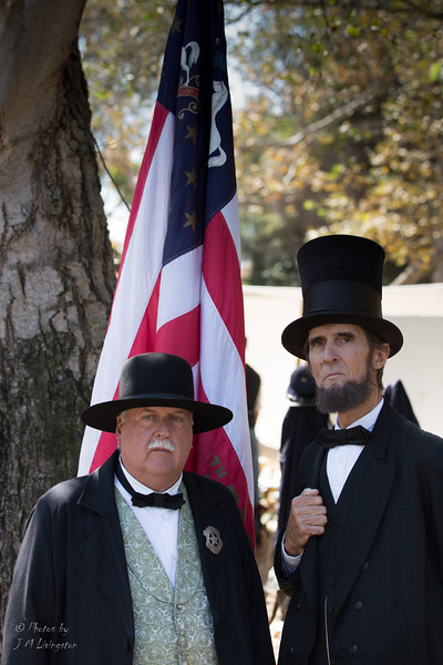 President Lincoln and his bodyguard