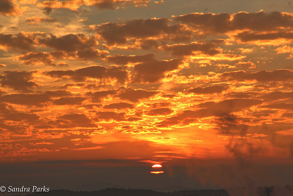 10-8-15, Sunrise, behind the First Russian Baptist Church