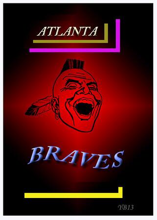 ATLANTA BRAVES RED STAR