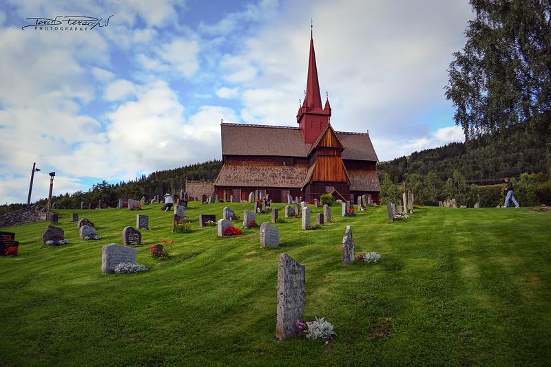 Chiesa Di Legno Norvegese