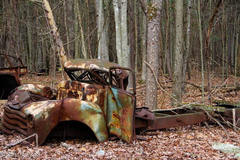 12-11-16: Abandoned truck, Massanutten
