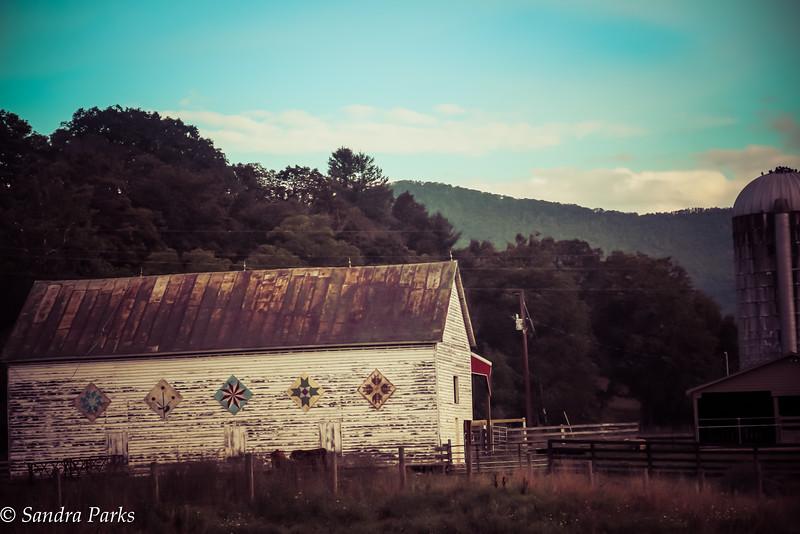 9-4-16:  Highland barn