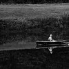 8-16-16: Old man rowing, in the early morning