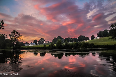 8-25-16: North River at sunrise