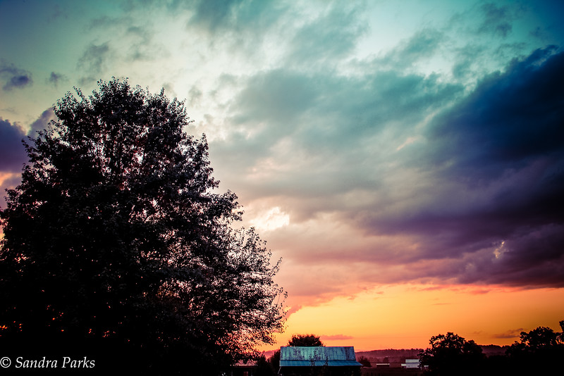 9-1-16: sunset on the east side