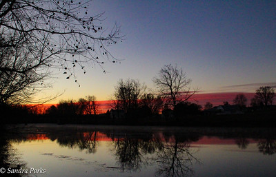 11-22-16: Bridge View, just before sunrise.