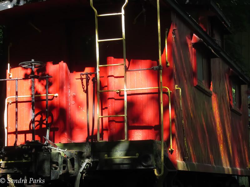 7-23-16: Stokesville caboose
