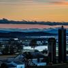 11-29-16: Sunset, Pike Church
