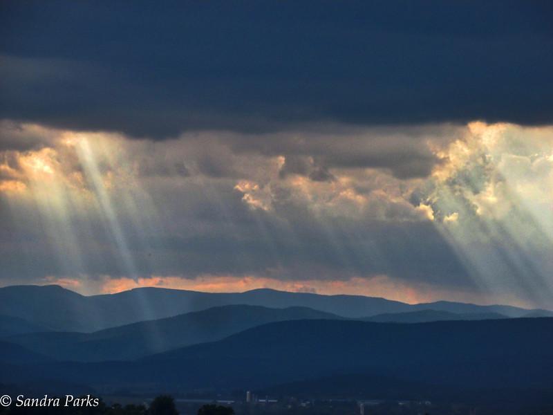 8-30-16: shooting rays of sunshine
