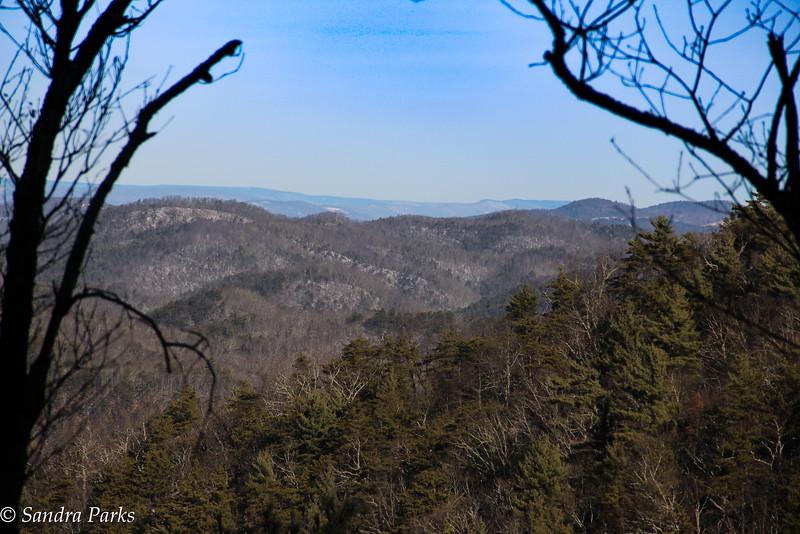 12-31-16:  On Shenandoah Mountain.