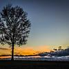 11-29-16: Sunset, Lewis Byrd Road