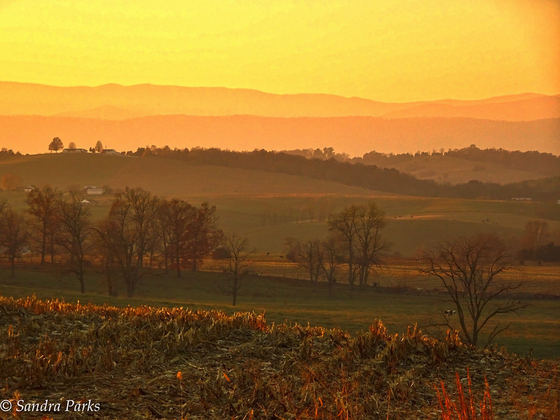 1117-16: just before sunset, Centerville