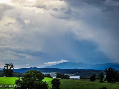 8-17-16: Storm brewing...