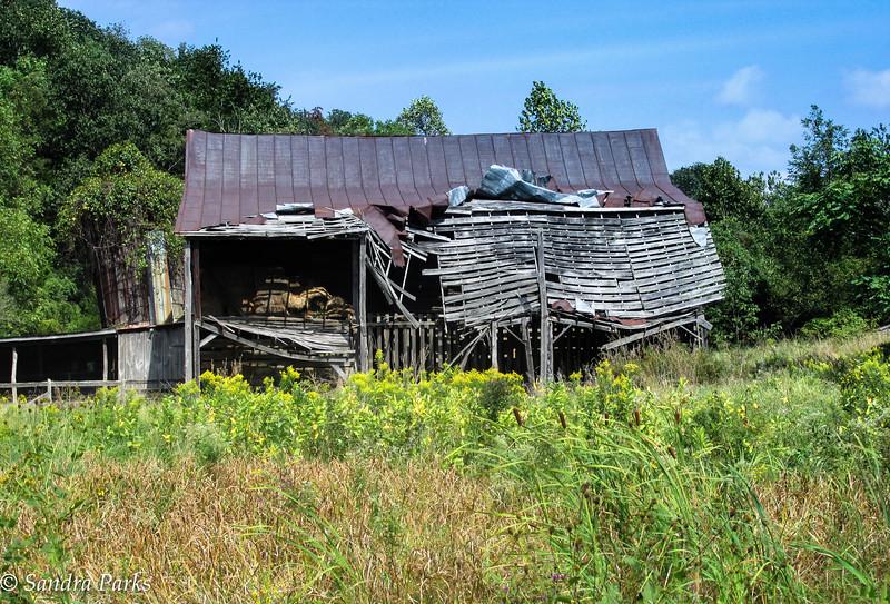 9-17-16: old barn, Keezletown