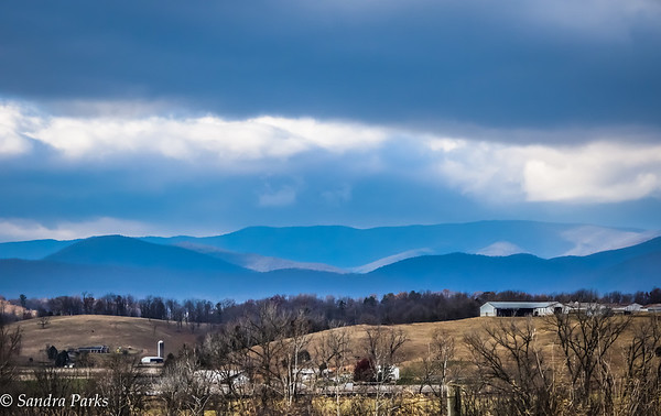 11-26-16: Mountains and clouds, Why I ride reason #74