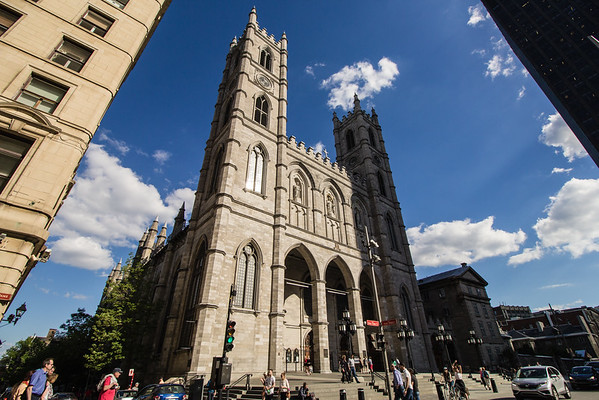 Notre Dame Basilica, Old Montreal