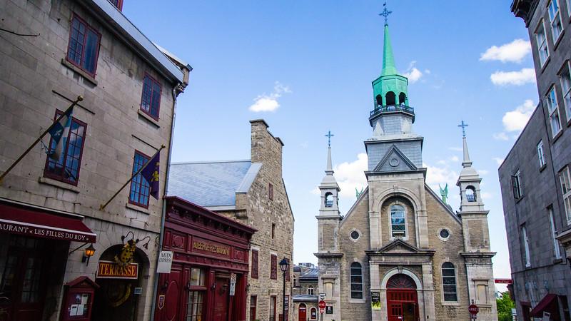 Notre de Dame de Bon Secour, Montreal