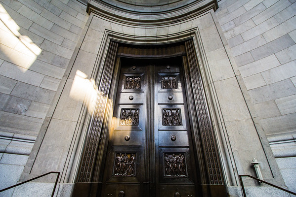 Bronze Doors, Old Courthouse, Montreal
