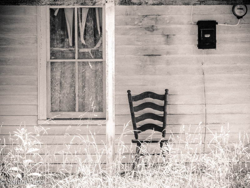 6-30-16: abandoned chair'