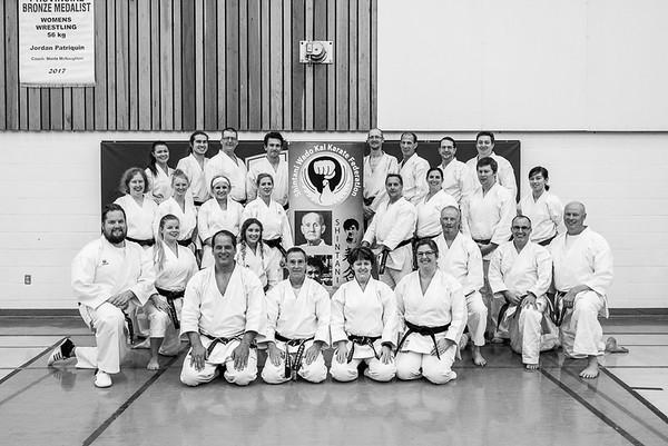 2017 Black Belt Grading Group Shots