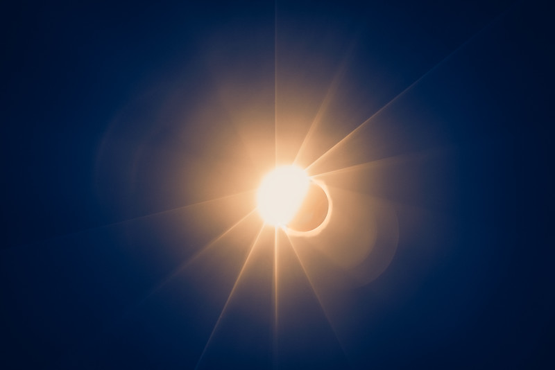 Moon's Shadow Diamond Ring
