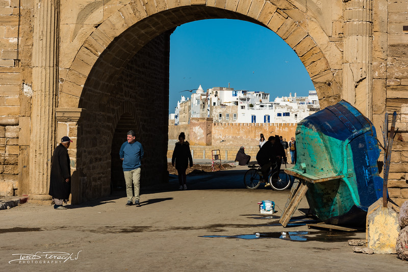 La Medina Vista Dal Porto