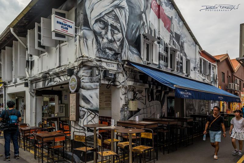 Dipinto Del Quartiere Arabo