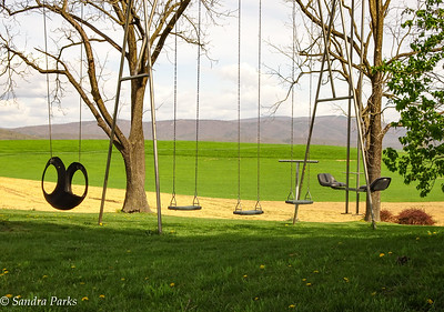 4-16-17: Swings with a view