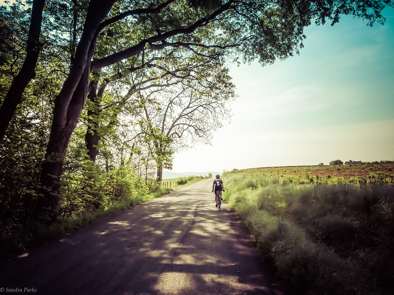 4-29-17: riding to the East
