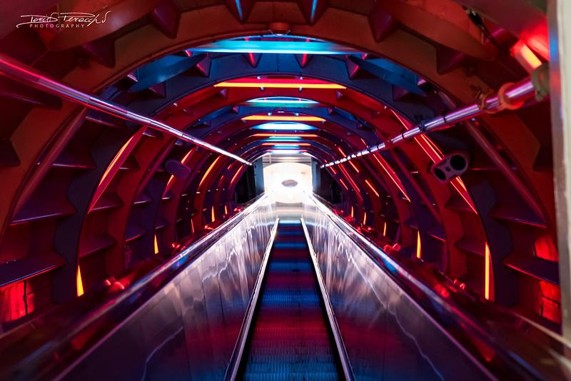 Scala Mobile Dentro L'Atomium