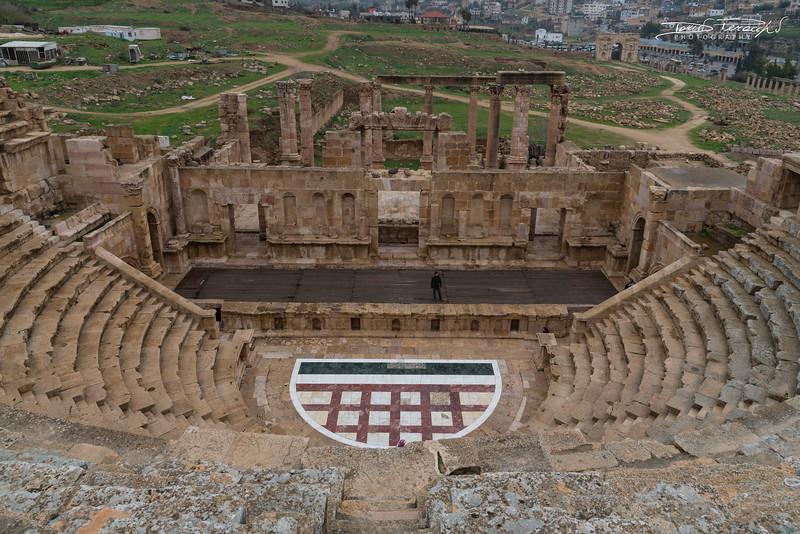 Il Teatro Nord Di Jerash