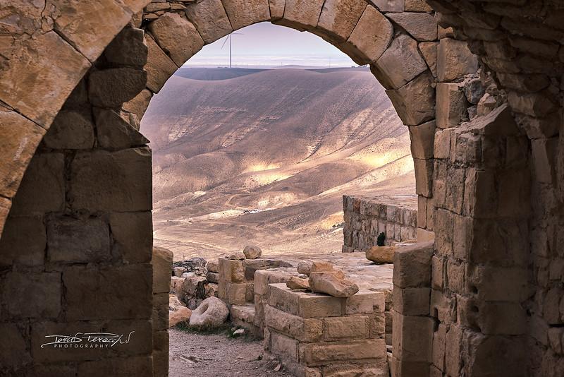Vista Dal Castello Di Shobak