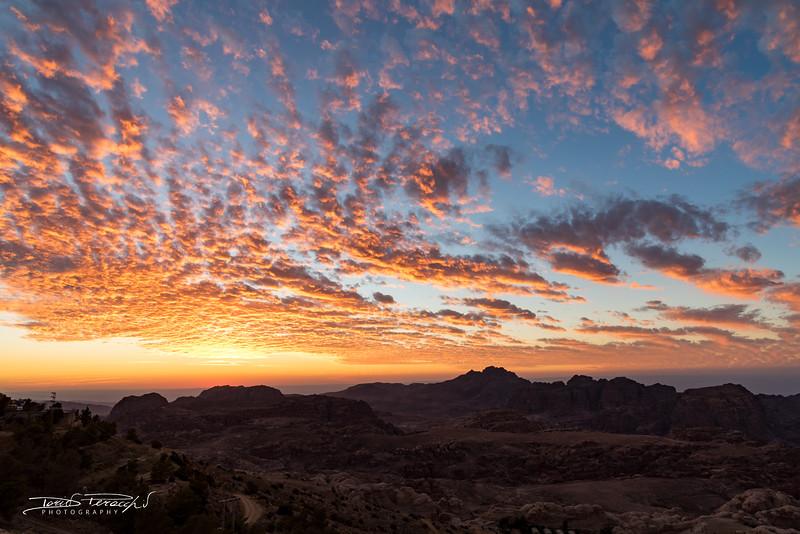 Tramonto A Petra