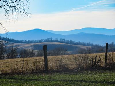 2-12-18: Afternoon shadows, Centerville