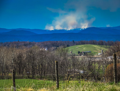 4-21-18:: Fire on the mountain
