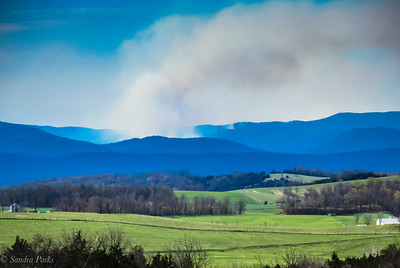 4-21-18: Fire on the mountain