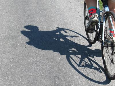 8-11-18: Bike shadows