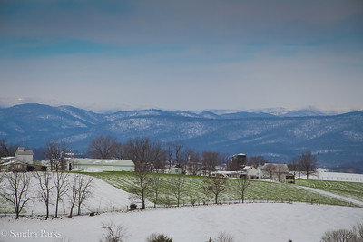 3-22-18: Snow on the fields, snow on the mountains
