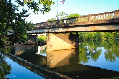 6-19-18: Bridge reflections